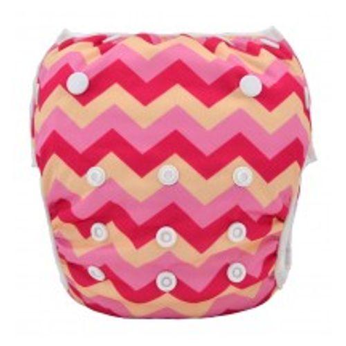 Swim Diaper - Pink Fuzz