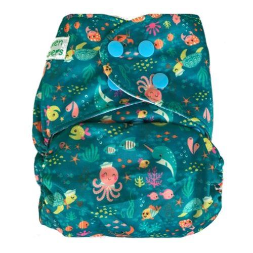 Pocket Diaper - Scuba-Duba-Du