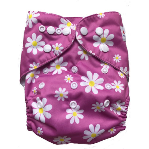 Pocket Diaper -Daisies