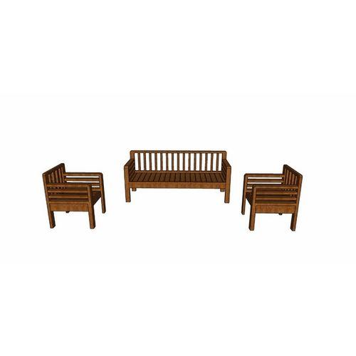 Buxton- 5 seater sofa set