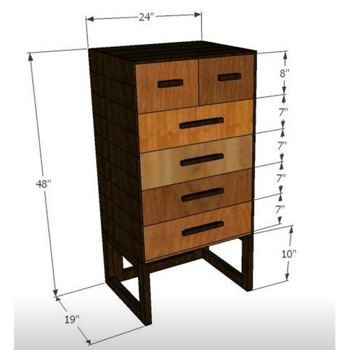 Garth-Chest of Drawers