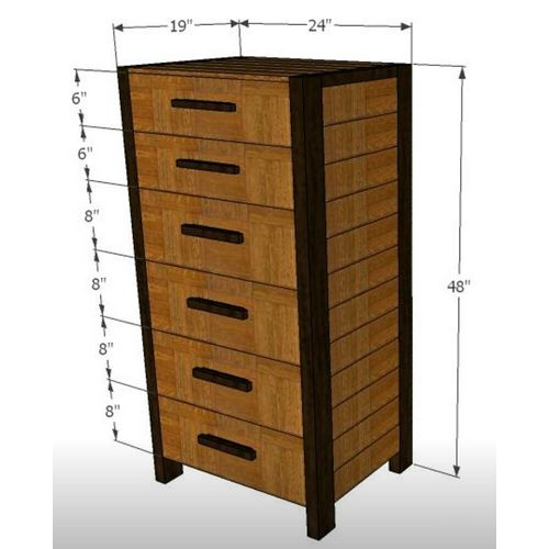 Swank-Chest of Drawers