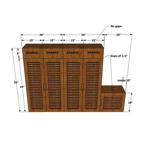 Carmez- Shoe Cabinet
