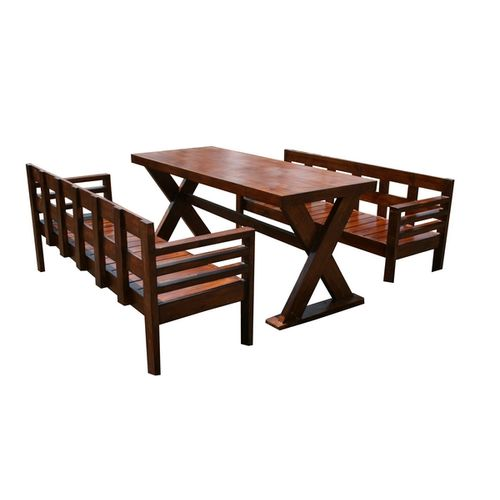 Carson- 6 seater dining set