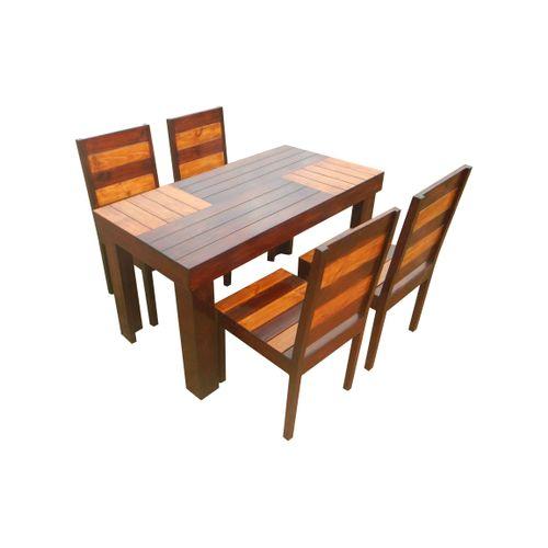 Aura- 4 seater dining set