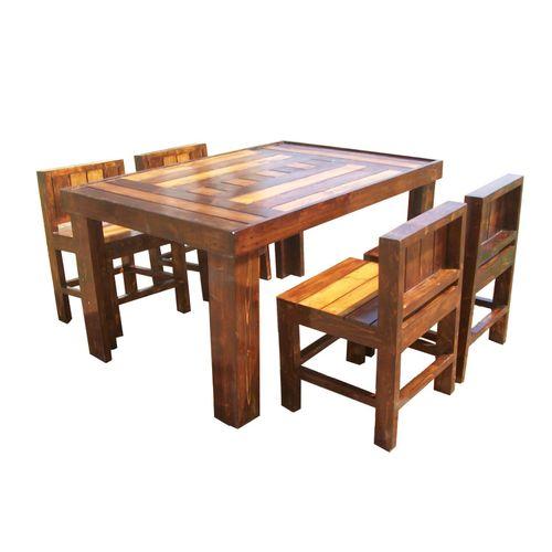 Riga - 4 Seater designer dining set