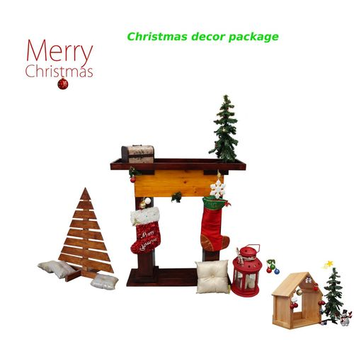 Christmas Decor Package  3-in-1