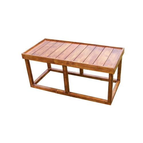 Baan - Rustic slatted bench
