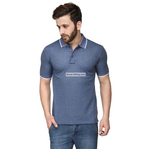 2a3e9fe45b SPARK-01-Blue Color Premium Polo T-shirt