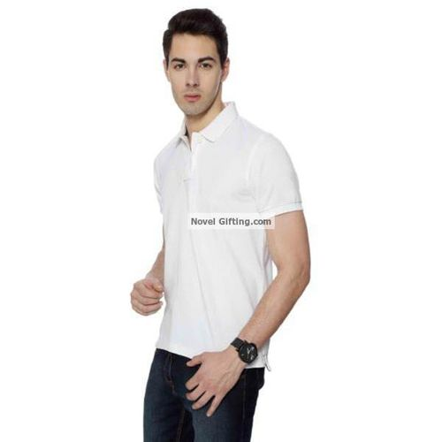 U S Polo Assn White Color Premium Polo T Shirt U S Polo Assn White