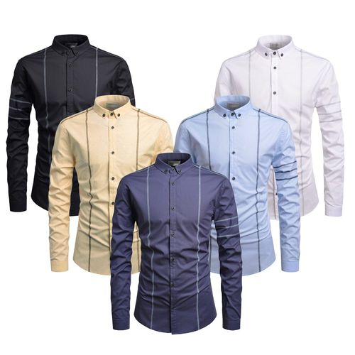 Combo Of 5 New Fashion Long Traditional Looking Slim Fit Stylish