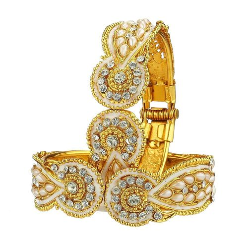 Youbella Antique Style Gold Plated Jewellery Bangle Set For Women