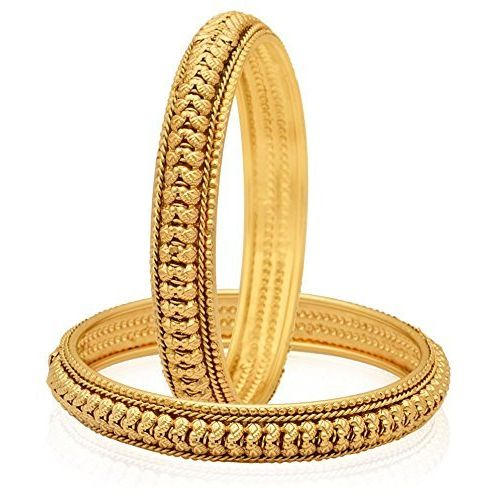 YouBella Gold Plated Bangles Jewellery For Girls And Women