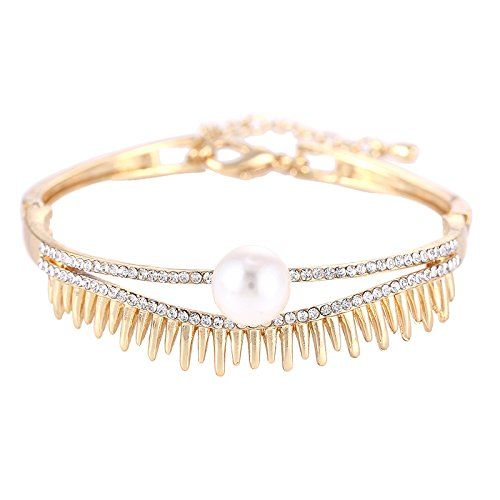 YouBella Jewellery Gracias Collection Gold Plated Bracelet Bangle for Girls and Women