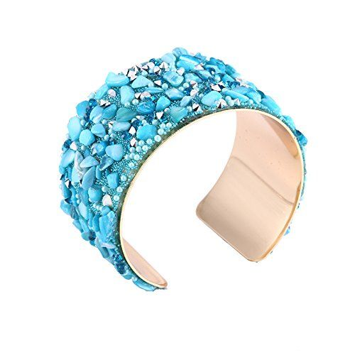 YouBella Jewellery Crystal Beads Studded Bangle Kada Bracelet for Girls and Women