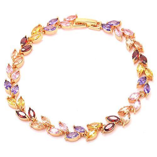 YouBella Designer Crystal Bracelet for Girls and Women