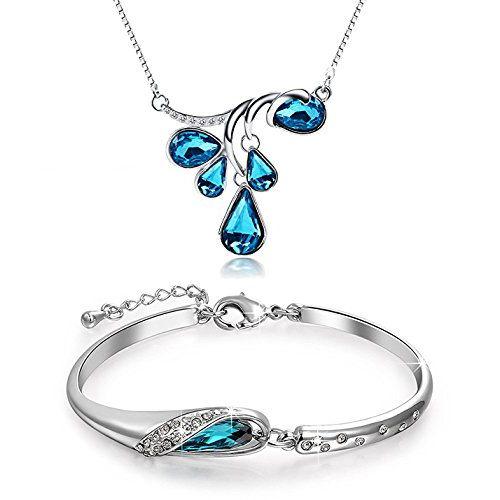 Garish Icy Blue Crystal  Incised Como