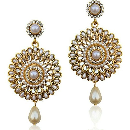 Youbella Gold Plated Dangle & Drop Earrings For Women's/Girl's
