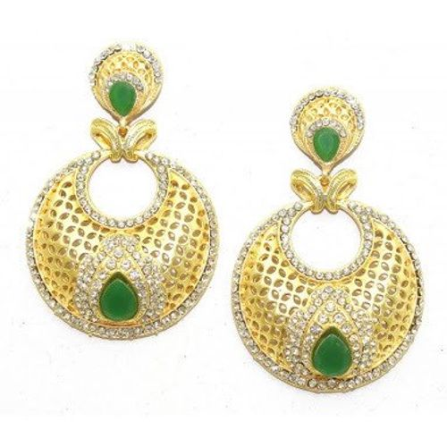 YouBella Traditional Gold Plated Jewellery Pearl Jhumka / Jhumki Earrings for Girls and Women