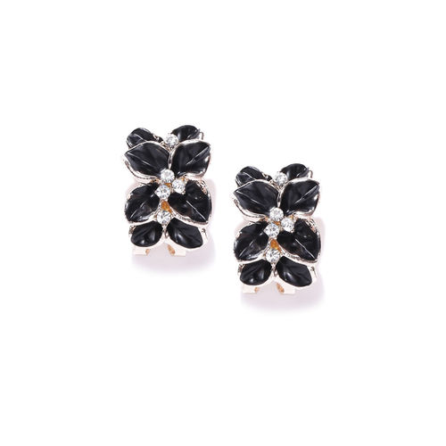 YouBella Gracias Collection Jewellery Crystal and Flower Design Earrings for Girls and Women ...