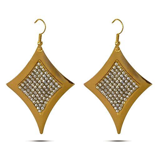 Charming Array of CZ  embellished earring