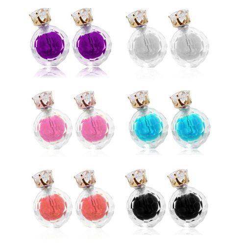 Crsytal Disco Balls double side earrings for Girls and Women