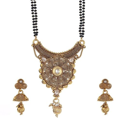 Ethnic Ring patterned Mangalsutra