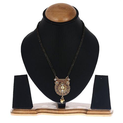 Kundan Bejeweled Antique Mangalsutra