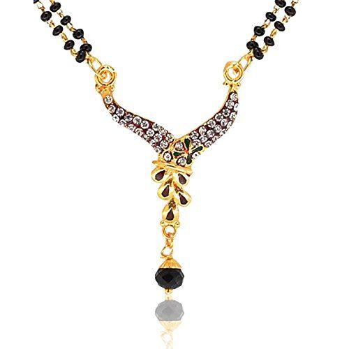 YouBella Meenakari Designer Mangalsutra with Chain for Women