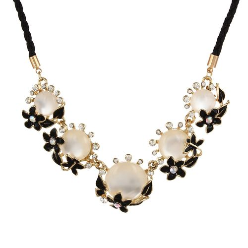 YouBella Presents L'amore Collection Designer Statement Jewellery Necklace for Girls and Women