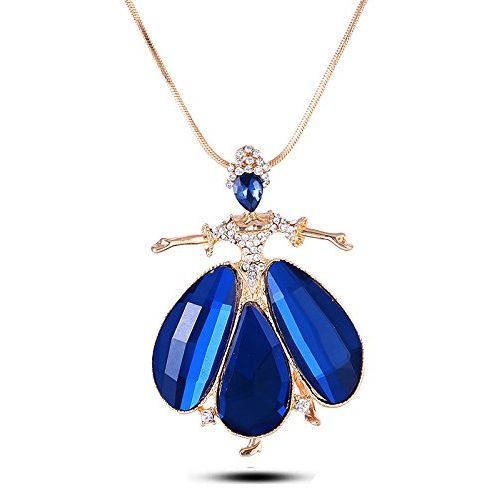 YouBella Presents Gracias Collection Crystal Jewellery Necklace / Pendant for Girls and Women