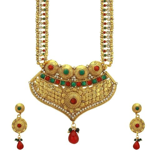 Royal Timeless Gold Plated Necklace