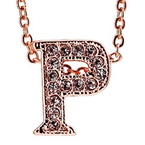 YouBella Jewellery Alphabet Letter