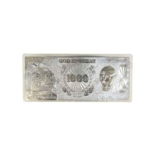 YouBella Silver Note (silver Coin) 1000rs Print