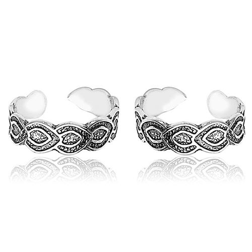 YouBella 925 Sterling Silver Toe Ring For Women