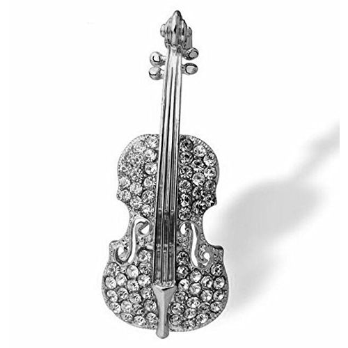 YouBella Gracias Collection Musical Guitar Brooch for Men and Women/Girls