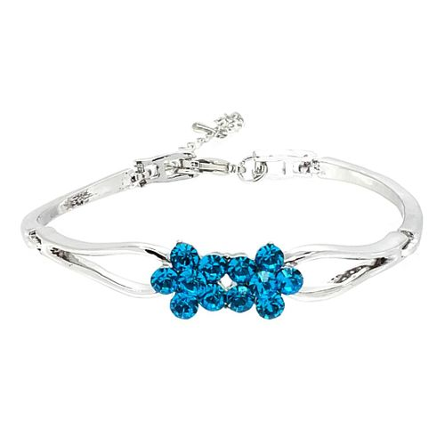 YouBella Valentine Collection Designer Crystal Bracelet