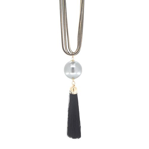 YouBella Designer Statement Pendant with Long Chain