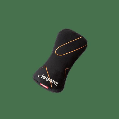 ELEGANT Memory foam neck pillow black 2pcs