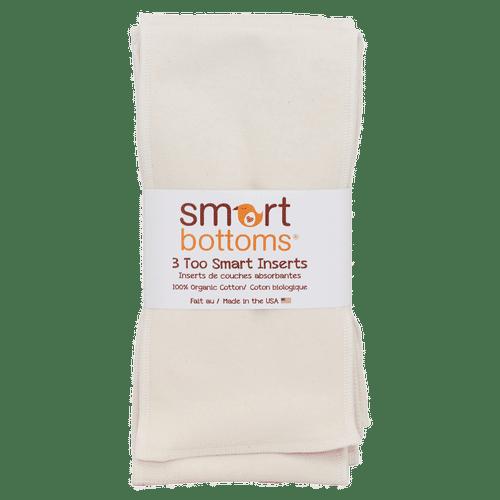 Too Smart - Organic Cotton Inserts ( Pk of 3)