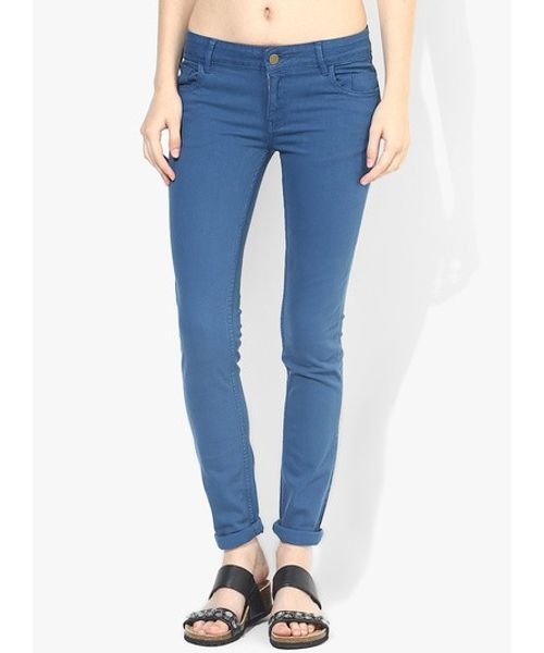 TWILL-TROUSER - Electric Blue