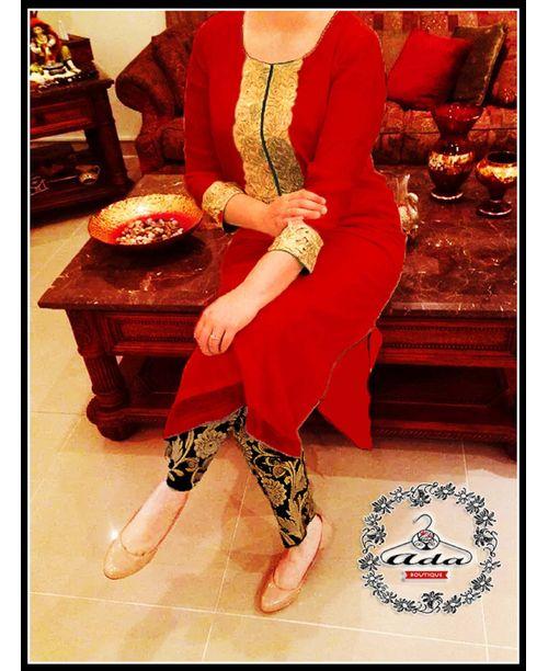 Stylish Red Dress