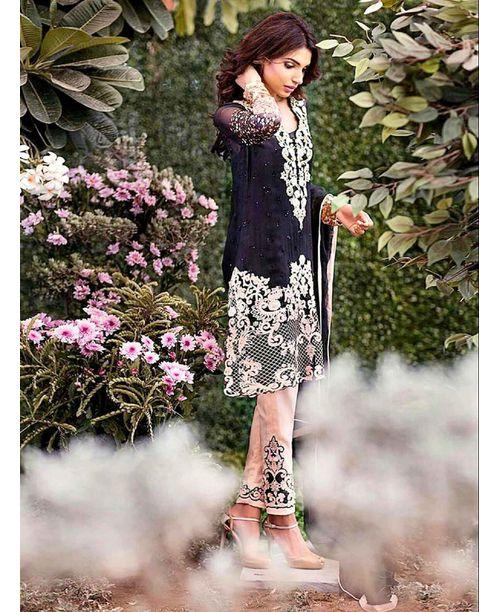 Stylish Embroidered Dress