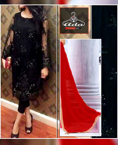 Sizzling Black / Red Dress
