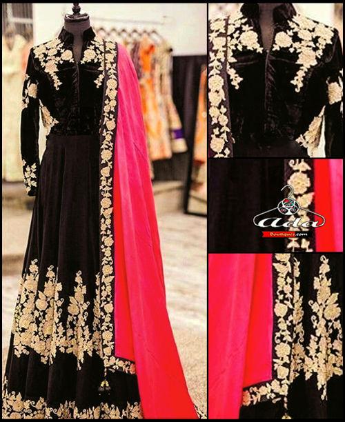 Stylish Black/Pink Dress