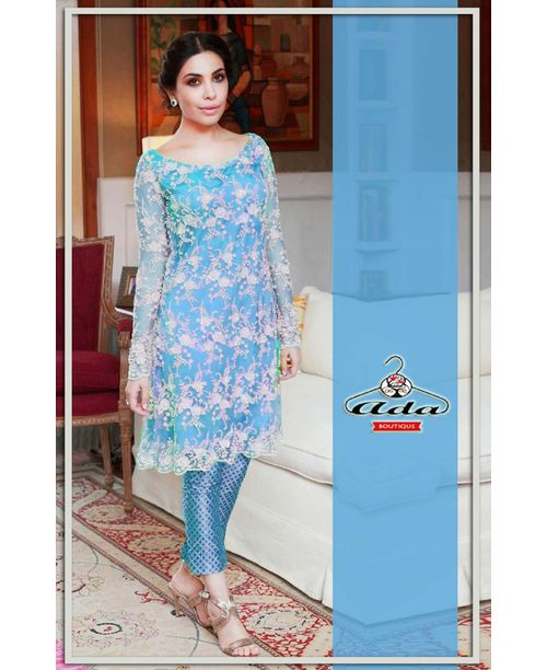 Soothing Light Blue Dress