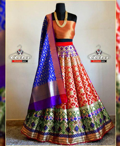 Royal Banarsee Lehenga Dress