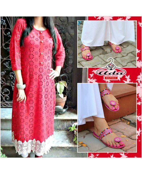 Stylish Cutwork Dress