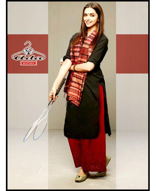 Deepika Black /Red Dress