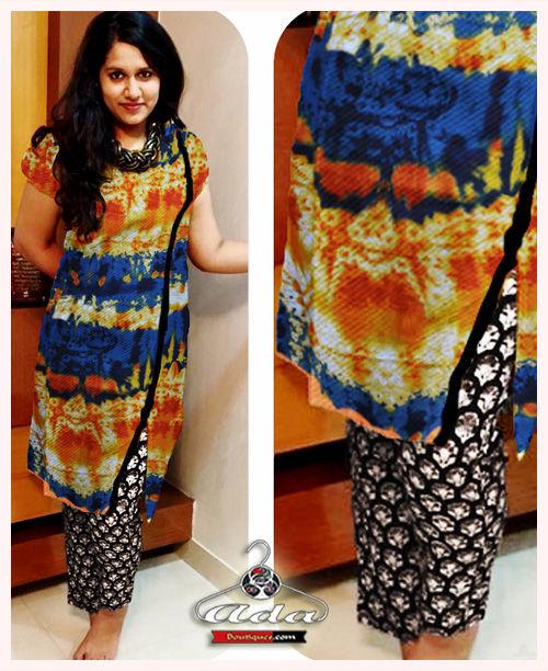 Stylish Digital Print Dress